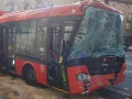 В Братиславе столкнулись автобус и троллейбус, 13 пострадавших