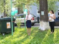 В российском городе торжественно установили мусорный бак