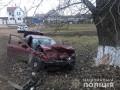 Под Одессой BMW протаранил