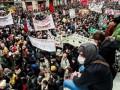 Во Франции протестующий бросил в полицейских бутылку с кислотой