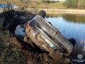 Под Тернополем авто упало в пруд: погибли три человека