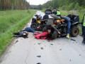 Золотая молодежь: спор выпускников закончился смертельным ДТП квадроциклов