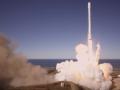 SpaceX успешно запустила ракету, появилось видео