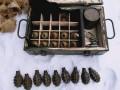 В зоне АТО нашли тайники с боеприпасами