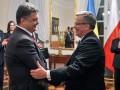 Порошенко и Коморовский проведут двустороннюю встречу