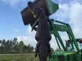 В США поймали огромного аллигатора весом в 353 кг