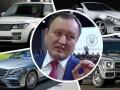 Глава Запорожской ОГА скрыл пять элитных авто - СМИ