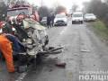 В Житомирской области КамАЗ протаранил легковушку, три жертвы