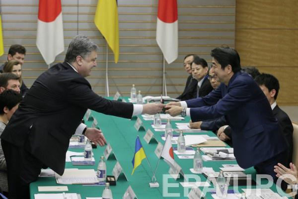 Япония готовит безвиз для государства Украины