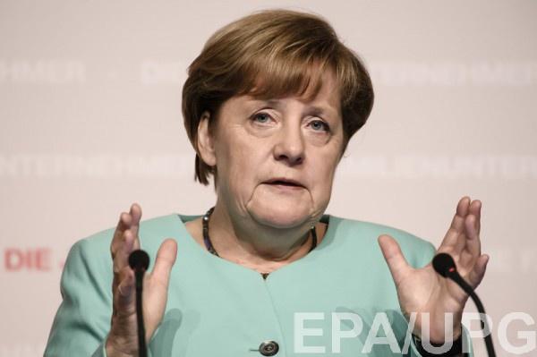Меркель не хочет, чтоб кто-то шантажировал ЕС в энергетической сфере