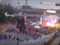 Концерт на Потемкинской лестнице: Рухнула металлоконструкция со звуковым оборудованием