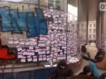 Блокада Сбербанка в Харькове: ранен полицейский