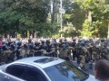 Столкновения в столице продолжились на улице Грушевского