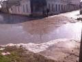 Улицы Евпатории превратились в болото