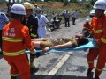 Сход оползня в Китае: как минимум шесть человек погибли