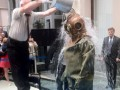 Глава ЦИК РФ принял эстафету Ice Bucket Challenge в скафандре (видео)