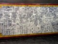 Procter & Gamble открыла выставку картин из грязи на стенах