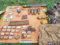 На Луганщине обнаружили арсенал оружия сепаратистов