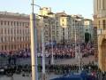 В Беларуси сломался водомет для разгона протестующих