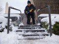 Снежный коллапс в Вашингтоне: видео