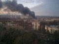 В Днепровском районе Киева горело СТО