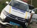 Закарпатская полиция устроила перестрелку с бандитами и разбила авто