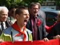 В Украине прошли первомайские шествия