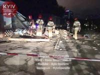 В Киеве ночью с грохотом обвалились три гаража