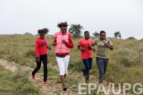 Бег в Кении - главный шанс в жизни