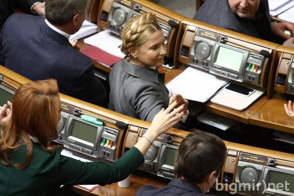 В Раде официально объявили о выходе Батькивщины из коалиции