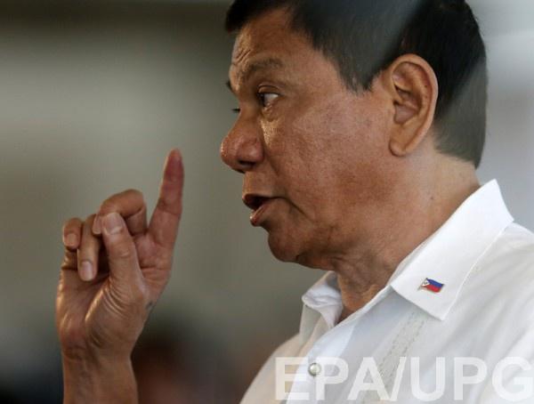 Президент Филиппин назвал В.Путина своим идолом