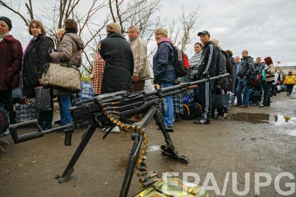 На Донбассе введут три уровня доступа