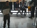 Дезертир собирал деньги на армию в столичном аэропорту