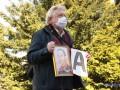 У Офиса Зеленского митинговали родственники пленных на Донбассе