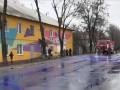 На Сумщине фиолетовые лужи испугали горожан