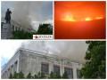 В Черкассах из-за пожара в театре рухнула крыша - СМИ
