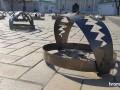 Активисты заставили центр Киева капканами