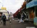 В Киеве разгромили МАФы возле рынка Юность