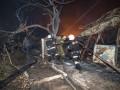 Масштабный пожар уничтожил пляжный городок в Одессе