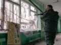 Боевики на Донбассе открывали огонь из БМП и артустановок