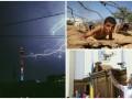 День в фото: Гроза в Москве, военный лагерь в Палестине и дрон в Раде