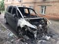 В Киеве сожгли авто главреда одного из телеканалов