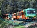 В Чехии столкнулись два пассажирских поезда, есть пострадавшие