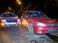 В Киеве на Лобановского Lada устроила ДТП из четырех авто