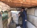 Луценко узнал о плачевном состоянии фортификаций на Донбассе