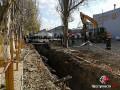 В Николаеве рабочих засыпало землей в шестиметровой траншее