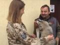 Ветераны АТО приняли участие в фотосессии ради спасения животных