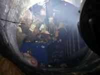 В Киеве в одном из коллекторов теплотрассы сгорел мужчина