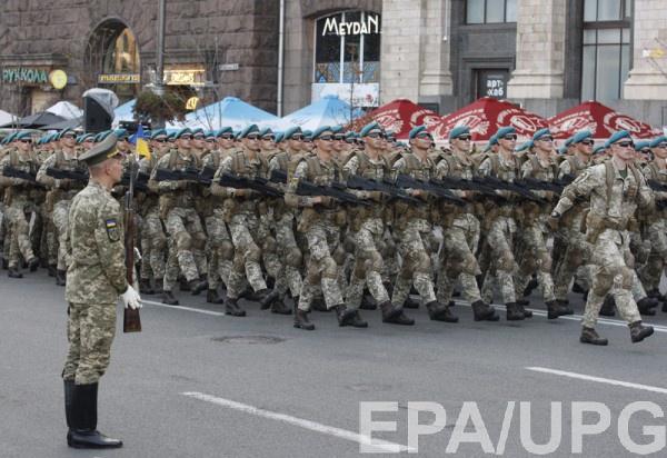 На День Независимости в Киеве