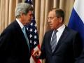 Лавров обсудил с Керри ситуацию в Украине и Сирии
